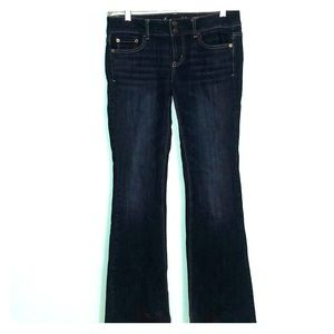 American Eagle dark wash Artist stretch Jeans 4